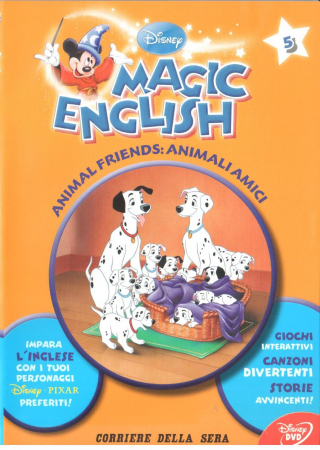 Animal friends : Animali amici / Magic English ; DISNEY