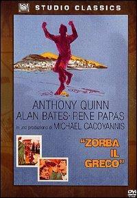 Zorba il greco [Videoregistrazione] / regia di Michael Cacoyannis ; principali interpreti: Anthony Quinn, Alan Bates, Irene Papas, Lila Kedrova, Georges Foundas