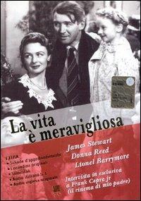 La vita è meravigliosa [videoregistrazione] / regia di Frank Capra ; con James Stewart, Donna Reed, Lionel Barrymore