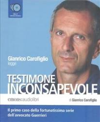 Gianrico Carofiglio legge Testimone inconsapevole