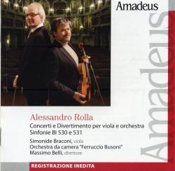 Concerti e Divertimento per viola e orchestra
