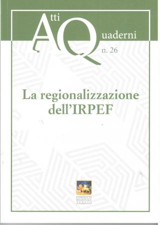 La regionalizzazione dell'IRPEF