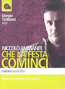 Giorgio Tirabassi legge  Che  la  festa   cominci