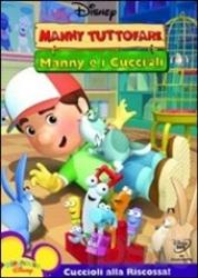 Manny Tuttofare. Manny e i cuccioli