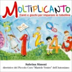Moltiplicanto/Sabrina Simoni direttrice de piccolo coro Mariele Ventre dell'Antoniano