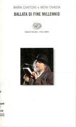 Ballata di fine millennio libro più CD / Moni Ovadia & Mara Cantoni