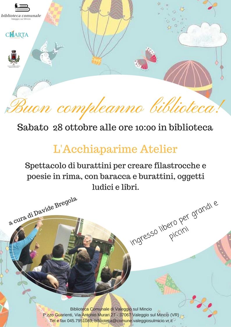 Buon Compleanno Biblioteca Sistema Bibliotecario Della Provincia